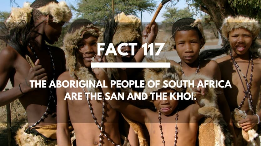 Fact-117-Aboriginal-People-South-Africa