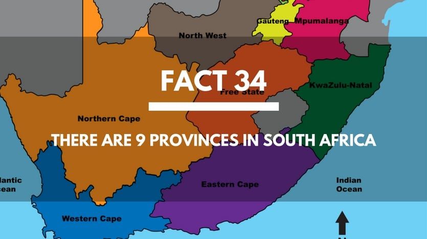 Fact-34-Provinces-South-Africa